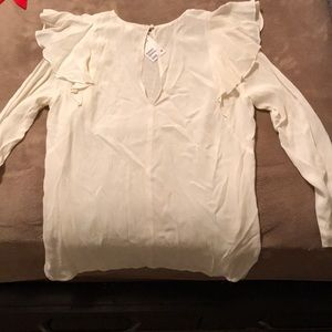 H&M sheer top size 14